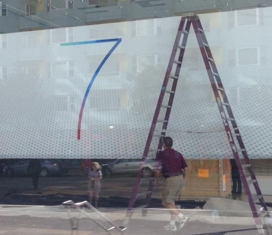 WWDC 2013 (iOS 7 logo, MacStories teaser)