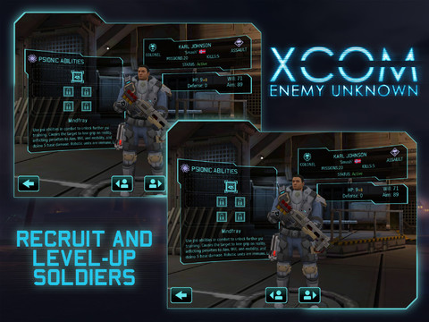 XCOM Enemy Unknown (iPad screenshot 004)