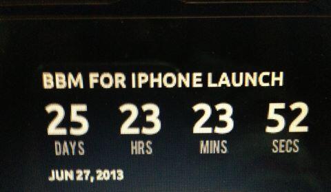 bbm countdown