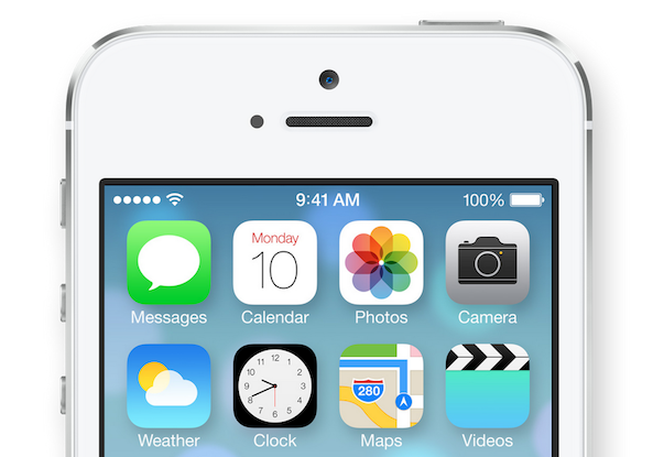 New In Ios 7 Clock App Icon Now Displays Real Time