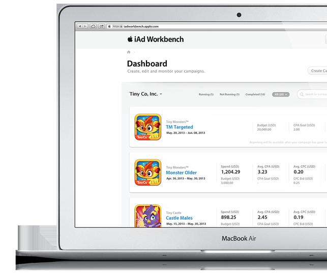 iAd Workbench (MacBook Air teaser)