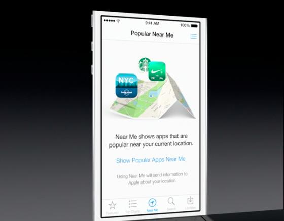 iOS 7 App Store near me