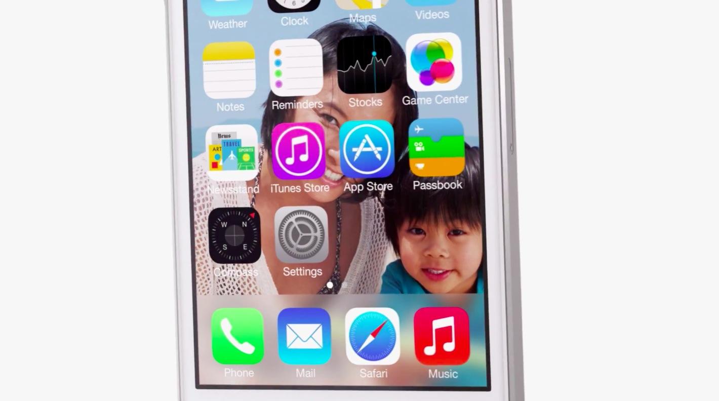 iOS 7 (App Store teaser)