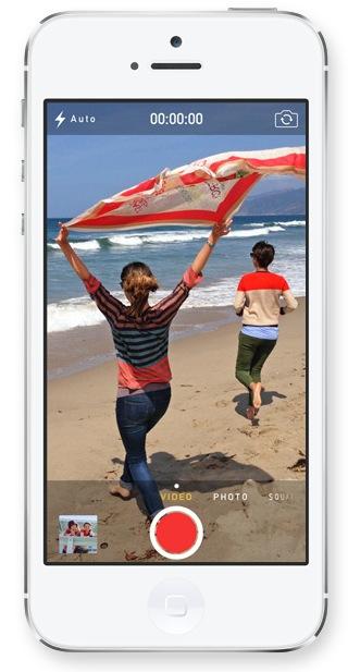 iOS 7 (Camera, Video capture 001)