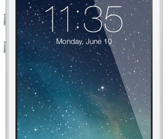 iOS 7 Lock screen featured