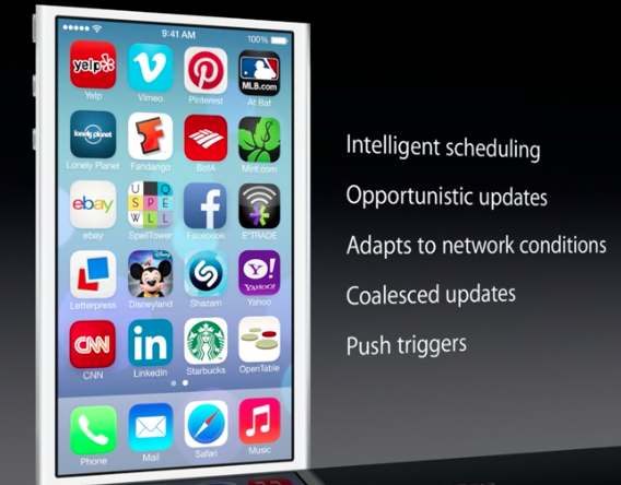 iOS 7 Multitasking Features