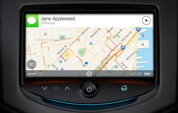 iOS 7 Siri Car Integration