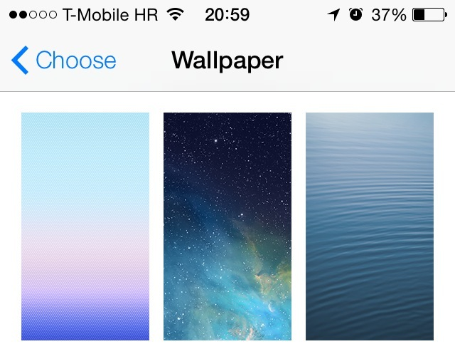 iOS 7 Wallpapers (teaser 001)