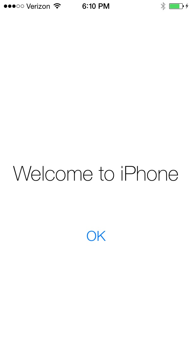 iOS 7 (Welcome to iPhone)