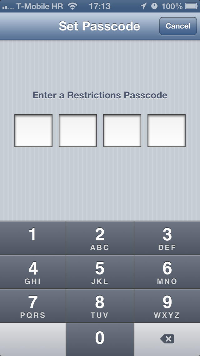 iOS Parental Controls (teaser 002)