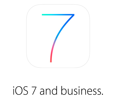 iOs 7 and Business