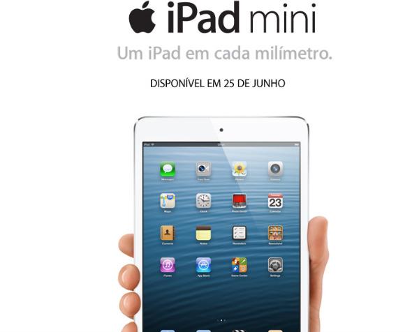 iPad mini Brasil teaser