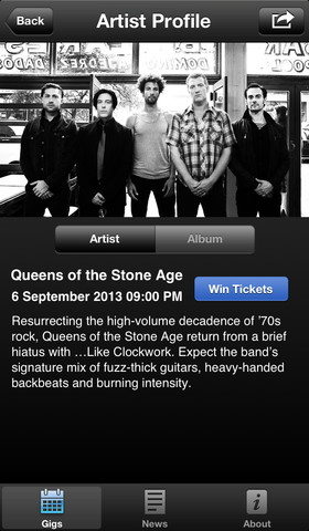 iTunes Festival 3.8 for iOS (iPhone screenshot 003)