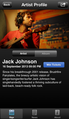 iTunes Festival 3.8 for iOS (iPhone screenshot 004)