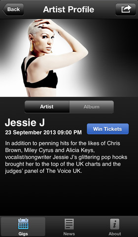 iTunes Festival 3.8 for iOS (iPhone screenshot 005)