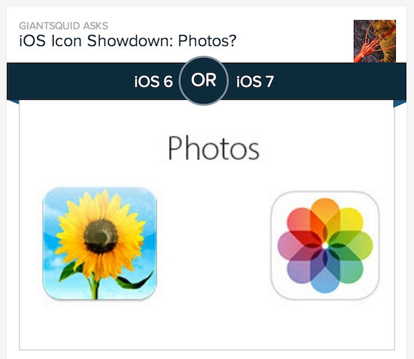 ios 7 vs ios 6 icons