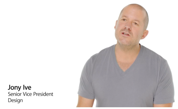 jony ive iOS 7 video