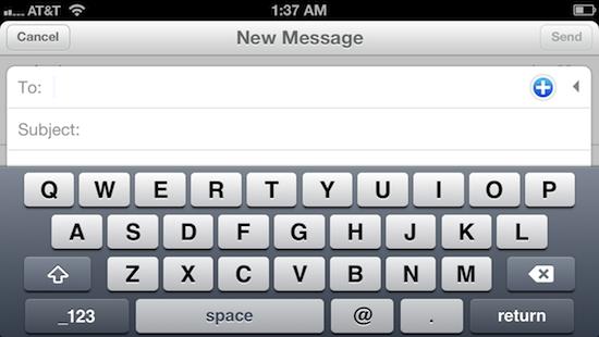 mailbox iphone landscape