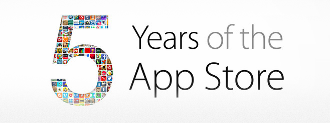 5 Years of the App Store (teaser 002)