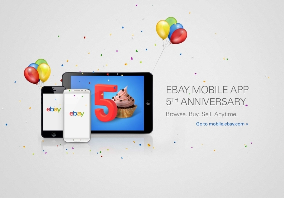 5 Years of App Store (eBay teaser 001)