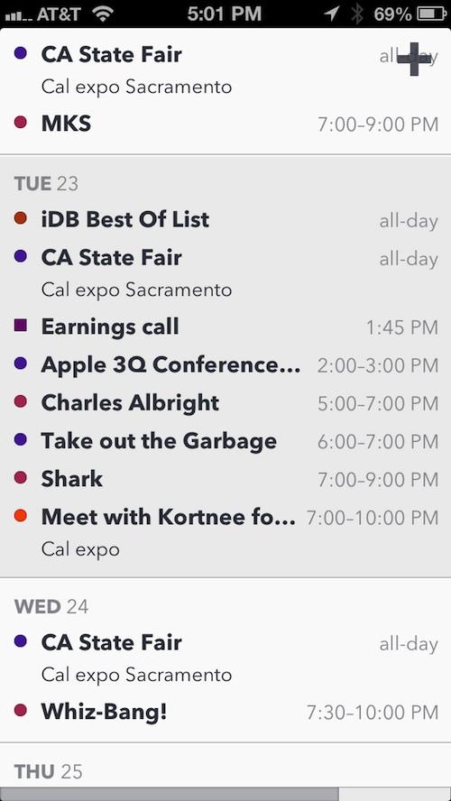 Agenda Calendar 4 3