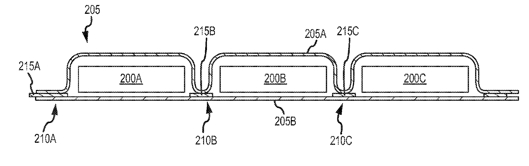 Apple patent (flexible battery pack, drawing 005)