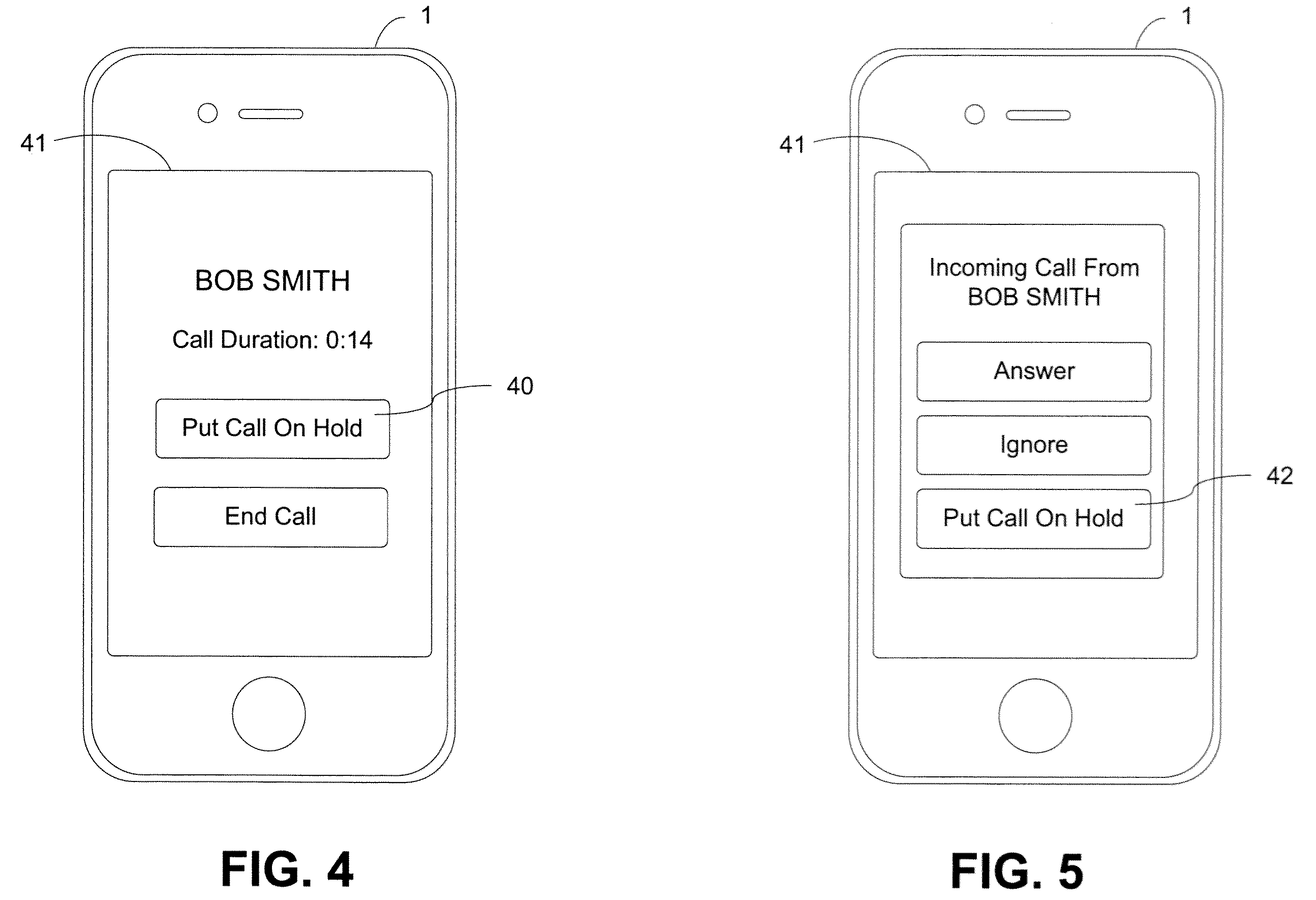 Apple patent (on-hold media sharing, drawing 003)