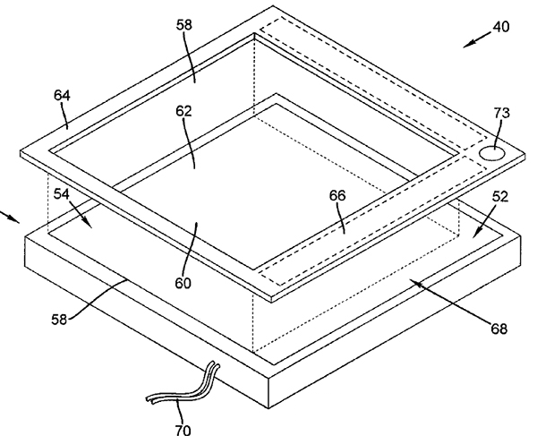 Apple smart bezel patent