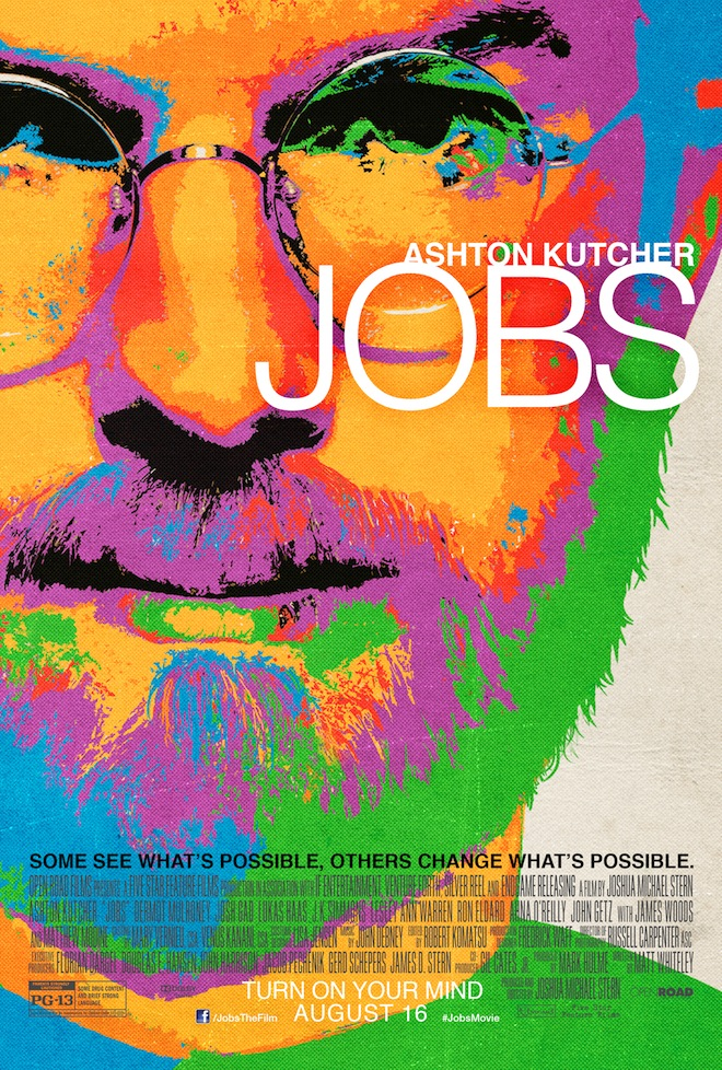 Ashton Kutcher Jobs movie poster