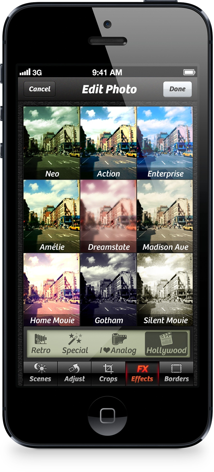 Camera Plus 3.9 for iOS (Hollywood Effects 001)