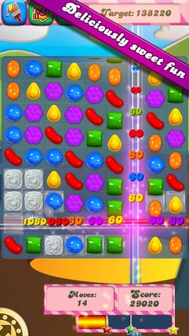 Candy Crush Saga 1.14 for iOS (iPhone screenshot 001)
