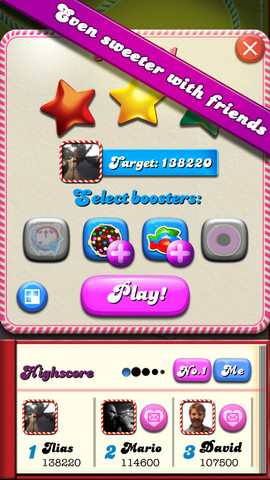 Candy Crush Saga 1.14 for iOS (iPhone screenshot 002)