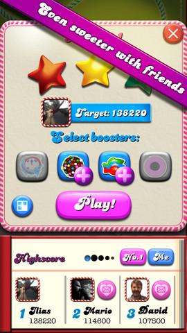 Candy Crush Saga 1.14 for iOS (iPhone screenshot 002)