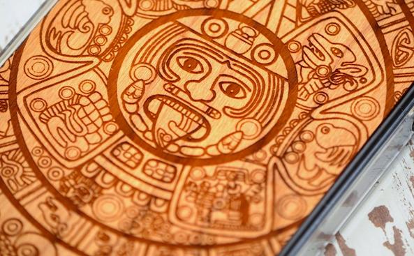 Carved Aztec Calendar