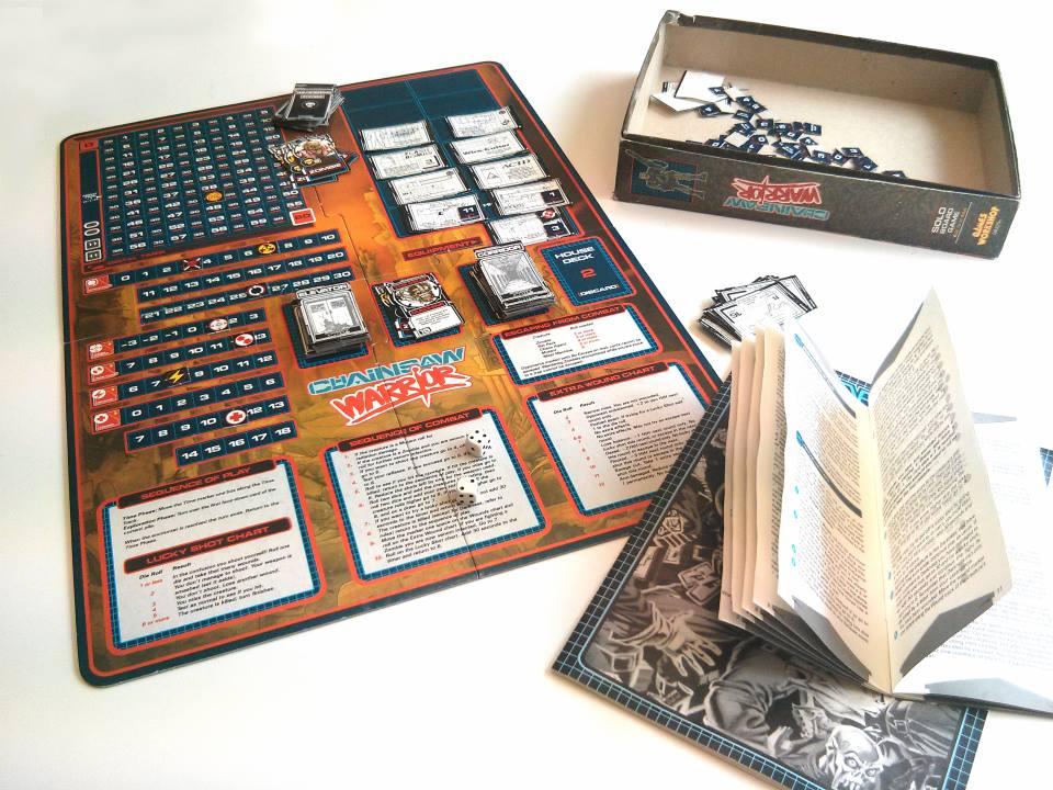 Chainsaw Warrior (original board game)