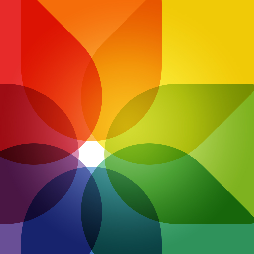 Wallpapers of the Week: iOS 7 Photo app icon-inspired ...