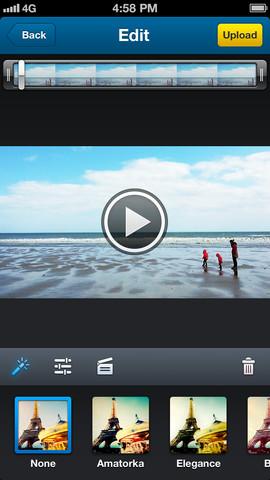 Dailymotion Camera 1.0 for iOS (iPhone screenshot 001)