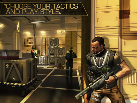 Deus Ex - The Fall (iPad screenshot 003)