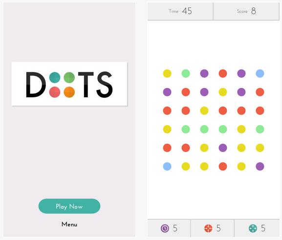 Dots photo description