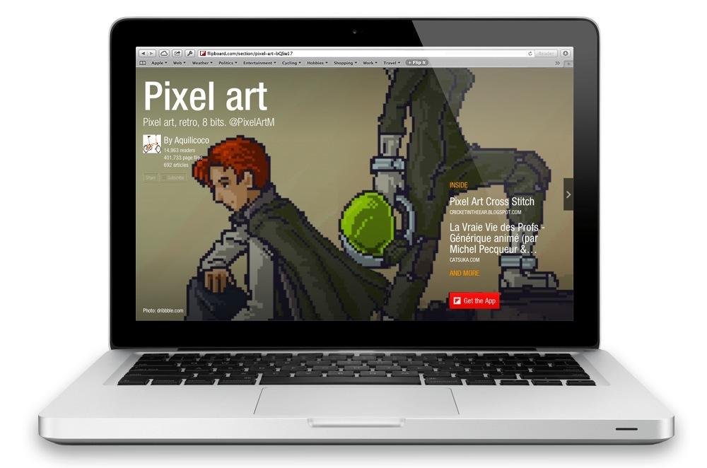 Flipboard web magazines teaser 001