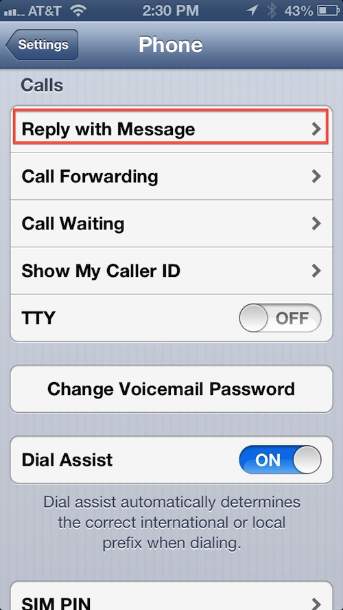 How to create auto-reply Messages on your iPhone