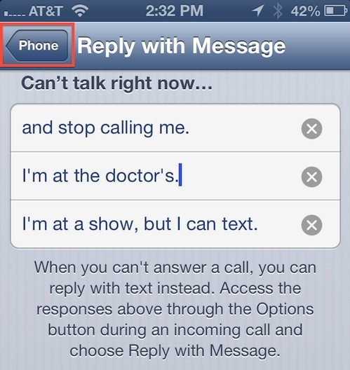 auto reply on iphone how to create auto reply messages on your iphone 13524