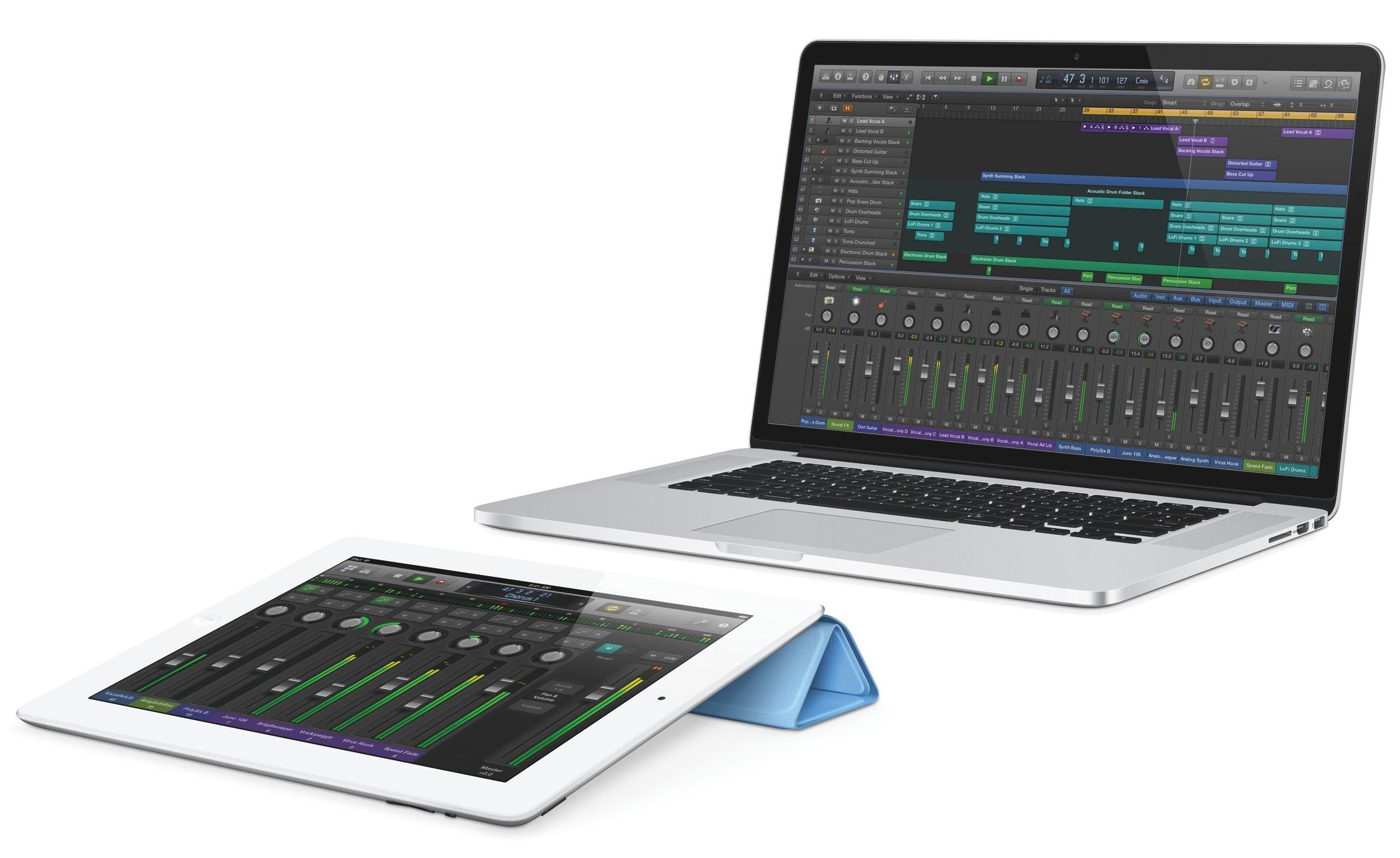 Logic Pro X (Remote, iPad)