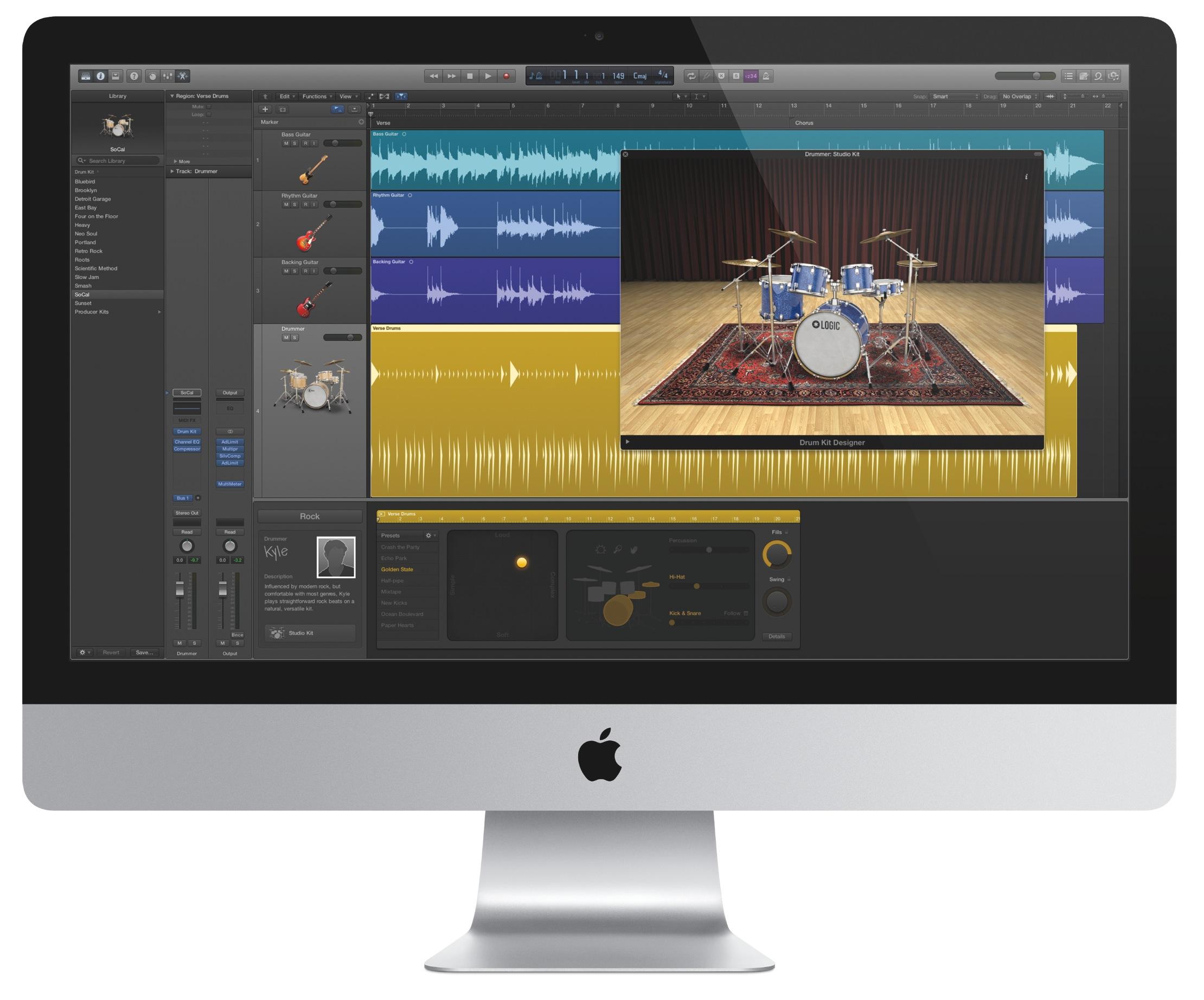 Logic Pro X (iMac 001)