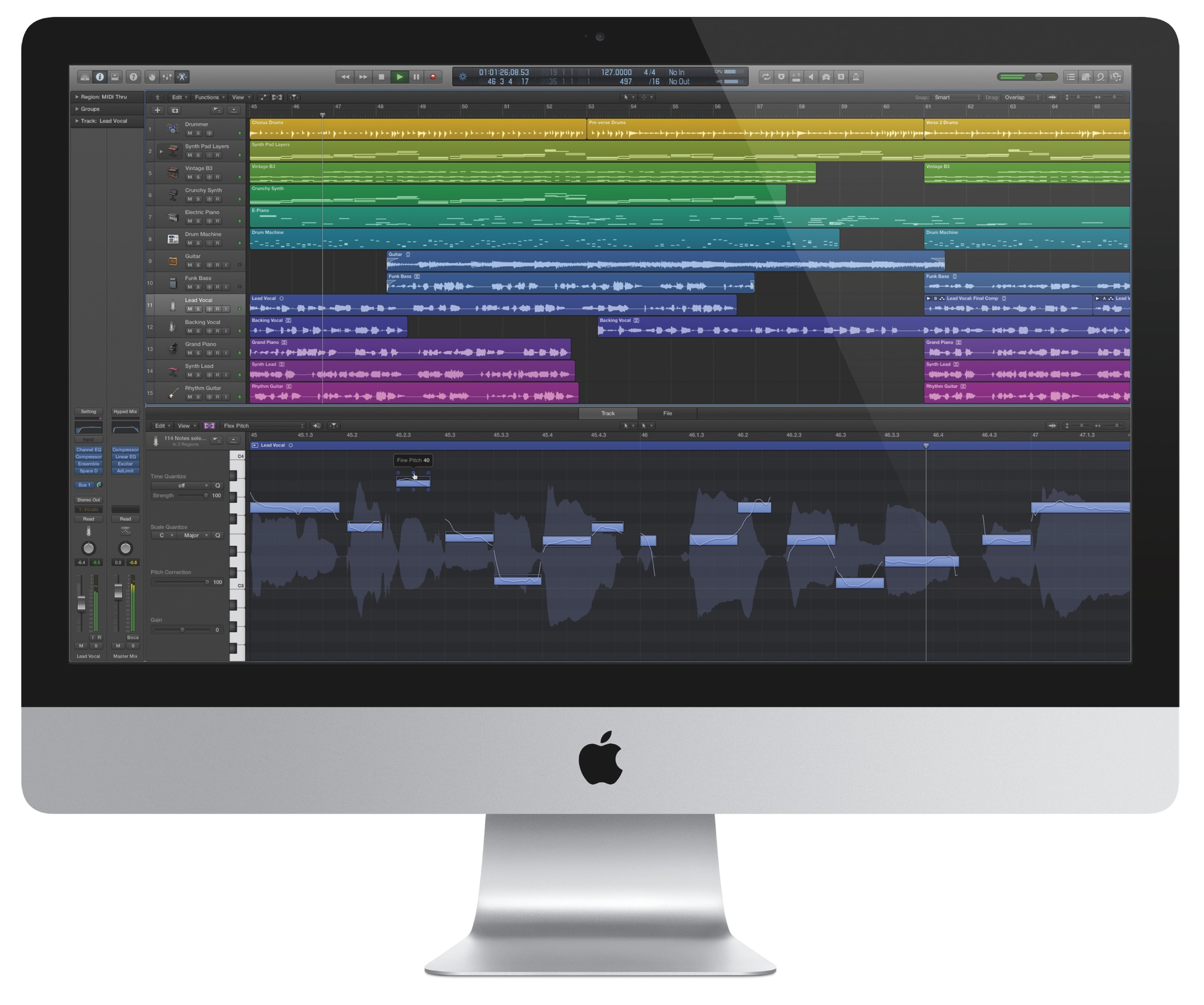 apple releases brand new logic pro x with virtual drummer updates mainstage. Black Bedroom Furniture Sets. Home Design Ideas