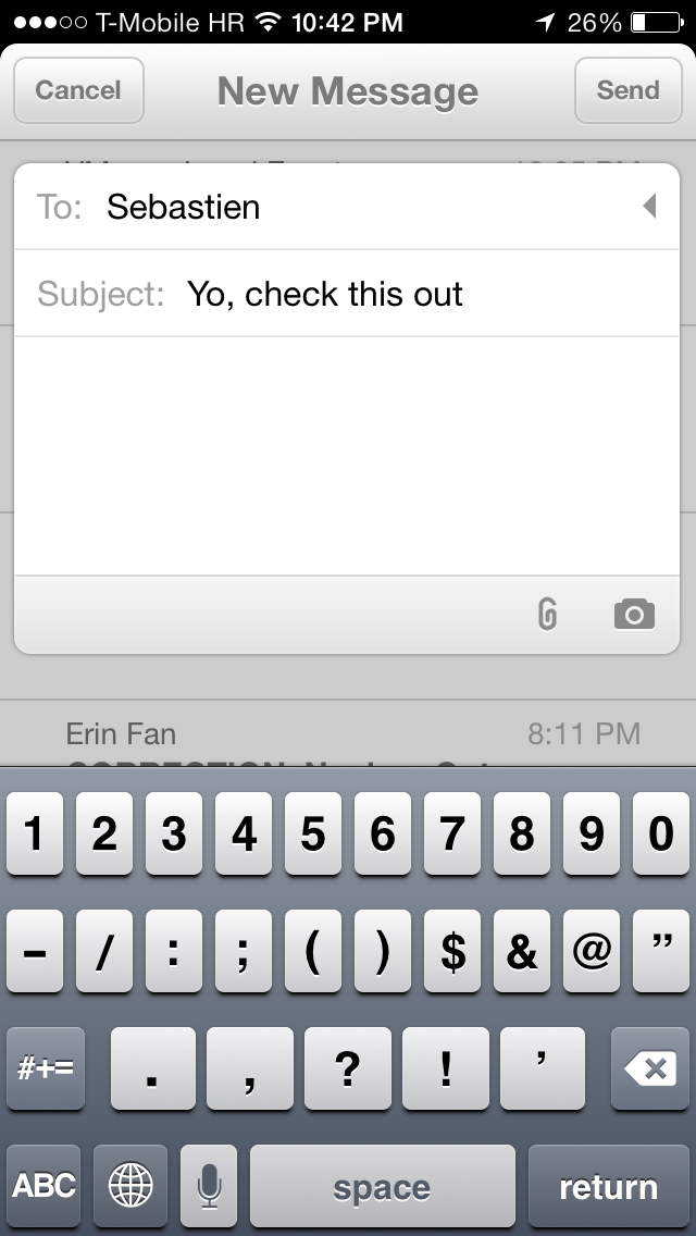 Mailbox 1.4 for iOS (iPhone screenshot 000)