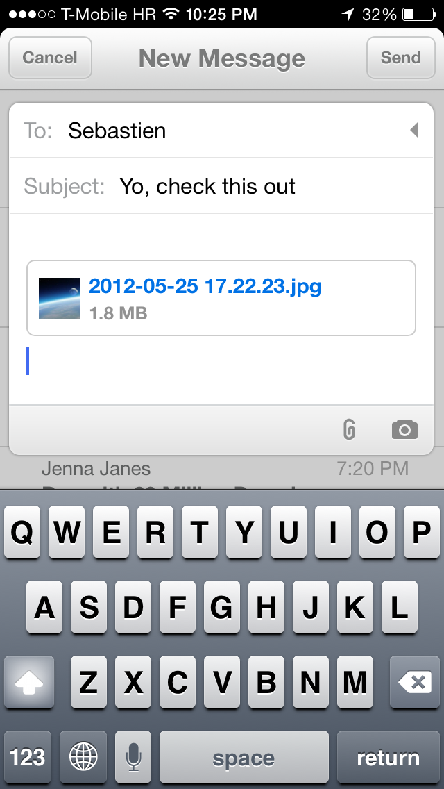 Mailbox 1.4 for iOS (iPhone screenshot 004)
