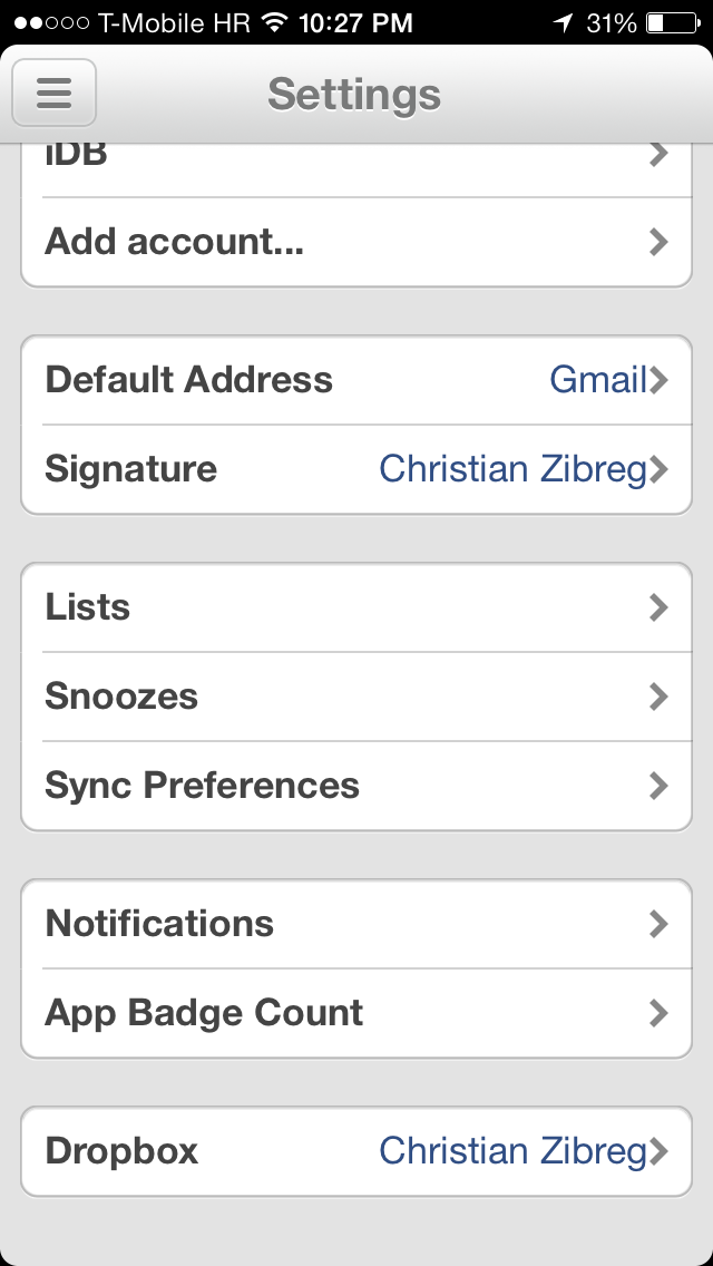 Mailbox 1.4 for iOS (iPhone screenshot 005)
