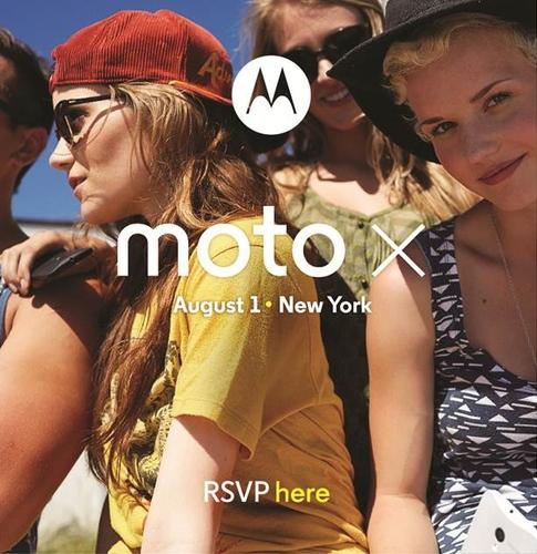 Moto X August 1 presser