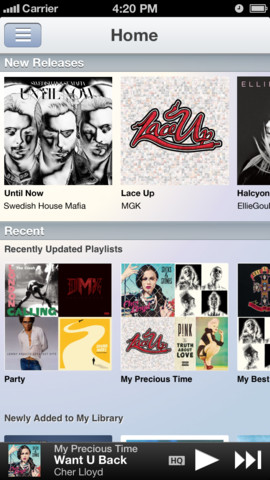 Music Unlimited 1.3.1 for iOS (iPhone screenshot 001)